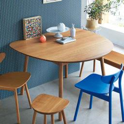 cobrina/コブリナ オーク天然木 ダイニングテーブル 幅133cm 奥行120cm ※本ページではテーブルのみの販売です。 ナチュラル