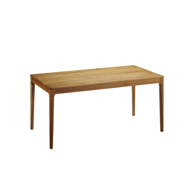 オーク無垢材ダイニングテーブル 幅150cm Luomu/ルオム