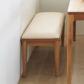 幅95cm(Luomur/ルオムール 無垢ダイニングシリーズ ベンチ) 写真