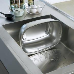 家事問屋 立つ洗い桶 写真