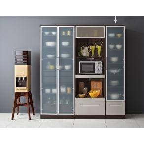 SmartII スマート2 ステンレスシリーズキッチン収納 キャビネット右開き 幅40cm 写真