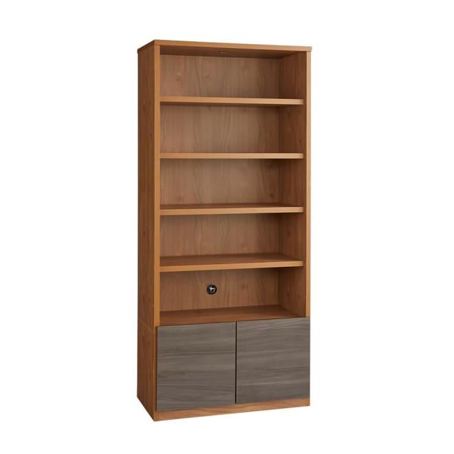 K´astani/カスターニ バイカラーコレクション本棚 本体 奥行45cm・幅79 高さ180cm お届けの商品です。