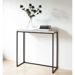 Marbrim/マーブリム 大理石調テーブルシリーズ コンソール 写真