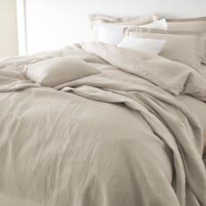 French Linen/フレンチリネン カバーリング 掛けカバー プレーン 写真