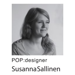 Finlayson/フィンレイソン POP フック織 玄関マット デザイナー「スサンナ・サリネン」