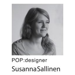 Finlayson/フィンレイソン POP フック織 キッチンマット デザイナー「スサンナ・サリネン」