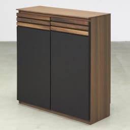 AlusStyle/アルススタイル カウンター下収納庫 2枚扉 幅80cm高さ84.5cm コンパクトでも充実の収納ボリュームでキッチンもあっという間にすっきり。