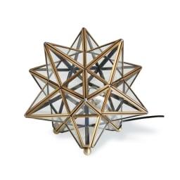 Etoile/エトワール 白熱球テーブルランプ クリア(透明ガラス) 消灯時
