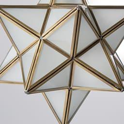 Etoile/エトワール 白熱球ペンダントランプ フロスト(半透明ガラス)
