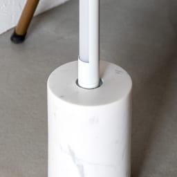 ネオマンクス バーライト用 大理石スタンド (スタンドライト用ベースのみ) ライトを差し込むだけの簡単設置。