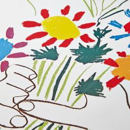 ピカソアートフレーム (イ)花束を持つ手