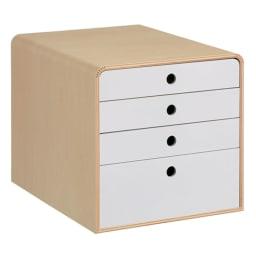 STOCK/ストック A4ファイルケース 幅28cm ホワイト