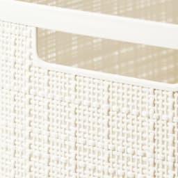 CURVER JUTE/カーバージュート バスケットワゴン バスケット4段 オフホワイト
