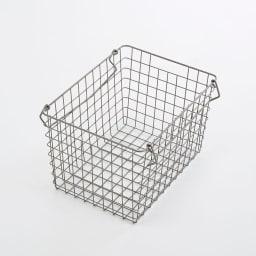 Lueurll/リュエール ニュアンスシルバーランドリー バスケットワゴン4段 バスケット単体でもお使いいただけます。