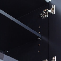 Jerid/ジェリド ハンガーバー付き吊り戸棚 幅59.5cm 可動棚は3cm間隔5段階で調節可能です