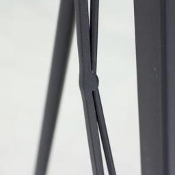 アイアンウォールミラーシリーズ スタンドミラー/姿見・壁掛けミラー兼用 幅41cm高さ162cm