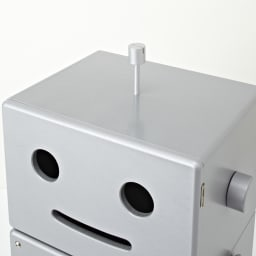 ROBIT/ロビット 収納ロボ[ete・えて] 頭頂部