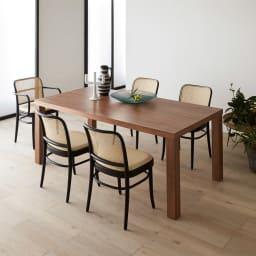 Multi マルチダイニングテーブル ウッドレッグタイプ 幅180cm