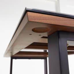 Zwart/ズワルト セラミックダイニングシリーズ テーブル 幅150