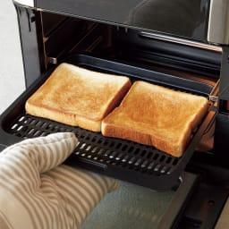 インスタントブランズ エアフライヤーオーブンプラス トーストもこんなにこんがり!