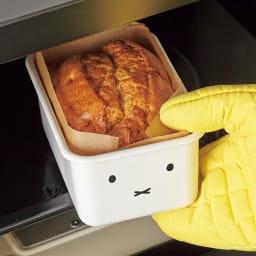 ミッフィー ホーロー深型角容器2点セット オーブン調理も可能です。
