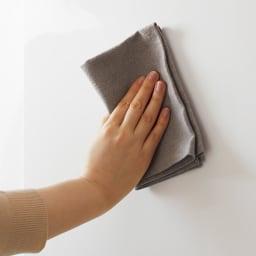 Rerve/レルヴェ 壁面収納引き戸キッチンパントリー 奥行45cm幅50cm高さ180cm (ア)は高級感のある光沢素材を採用。汚れを落としやすく拭き掃除もラクラク。