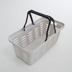 薄型アイアンワゴンバスケット・キッチン収納ワゴン バスケット単体でも便利です。