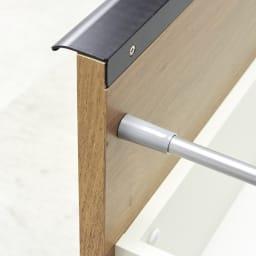 Lana/ラナ ステントップボード レンジボード 引出しはしっかりとした作りの『箱組み』を採用。開け閉めが多いキッチン使いに適した作り。