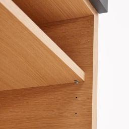 Boulder/ボルダー 石目調天板キッチンシリーズ カウンター 幅120cm 奥行50cm 棚板は3cmピッチで高さ調節できます。