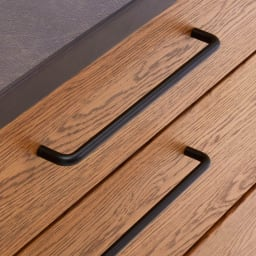 Mattone/マットーネ キッチンシリーズ 幅140cm カウンター スライドテーブル家電収納部には湯気の出る家電を置くのに最適。収納部右奥にはコンセントを1口付属しました。