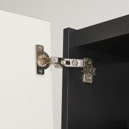 Enkel/エンケル キッチンシリーズ 幅40cm マルチストッカー 丁番は簡単に外すことが出来るので扉の左右の付け替えもラクラク。(お届け時は左開きです)