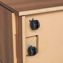 Granite/グラニト アイランドカウンター キャスター付き間仕切ワゴン