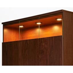 LEDライト付きサイドボード 幅120cm
