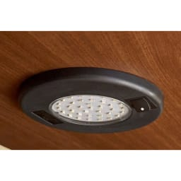 LEDライト付きキャビネット 幅80cm スイッチ付のLEDライト