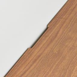 Remonte/ルモンテ リビングシリーズ キャビネット 幅120.5cm 天板後方には配線用カットがありコード類を通せます