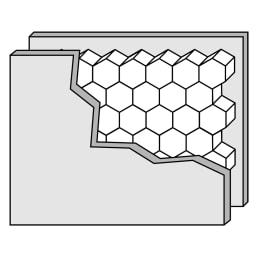 Pombal/ポンバル シェルフ コンクリート 2連セット 高さ224cm