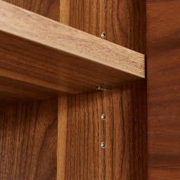 Glan Plus/グラン プラス デスクシリーズ キャビネット 幅119cm 棚板は3cmピッチの可動式なので収納物の大きさに合わせて棚を設置出来ます。