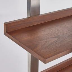 Glan Plus/グラン プラス デスクシリーズ ディスプレイラック 幅80cm 棚板には汚れやキズに強い素材を使用しています。