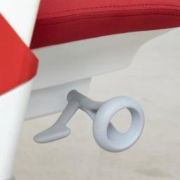 HermanMiller/ハーマンミラー セイル チェア レッド リクライニングの硬さを調整できます