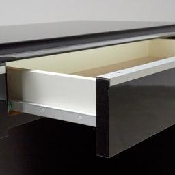 Evan/エヴァン 薄型デスク高さ72cm 幅120cm 引き出しはスライドレール付きで開閉スムーズです。