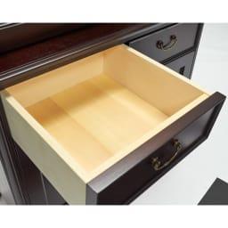 エレガントクラシックシリーズ カップボード・コレクションボード 幅85.5cm高さ180cm