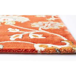 ベルギー製Adriana/アドリアーナ ウィルトン織マット 目が詰まったしっかりとした踏み心地のラグ。ヒートセット加工で触り心地は柔らかです。