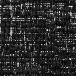 スペイン製フィットカバーAndrea/アンドレア 座面・背もたれ兼用カバー(1枚) (ア)ブラック系 生地アップ