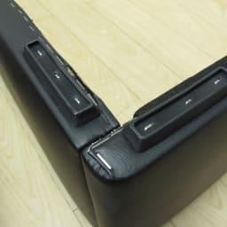 LeClass/ルクラス レザー引き出し付きベッド フレームのみ 脚部