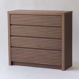 Maisema/マイセマ ウォルナット格子チェスト 幅100cm・4段(高さ90.4cm) お届けの商品はこちらです。
