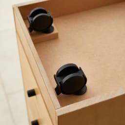 Ruche/ルーシュ ジュエリーチェスト 衣類小物収納 幅30 隠しキャスター付きで、移動がラクラク。