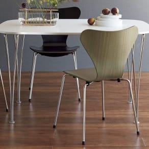 Seven Chair/セブンチェア カラードアッシュ[Fritz Hansen・フリッツ・ハンセン/デザイン:アルネ・ヤコブセン] 写真