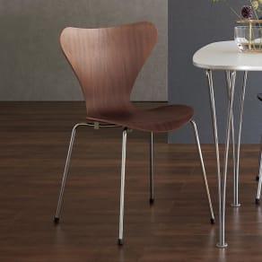 Seven Chair/セブンチェア ナチュラルウッド[Fritz Hansen・フリッツ・ハンセン/デザイン:アルネ・ヤコブセン] 写真