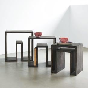 SHOJI/ショージ ネストテーブル リビングテーブル/サイドテーブル[abode・アボード/デザイン:ウー・バホリヨディン] 写真