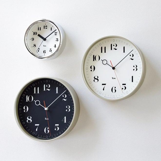 RIKI CLOCK/リキ クロック RIKI RING CLOCK お届けは【RIKI RING CLOCK リキ リング クロック】です。(左上は別商品の「リキ アルミニウム クロック」です。)